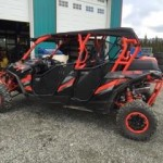 back 40 mechanical, wet sounds, rzr maverick, rzr turbo