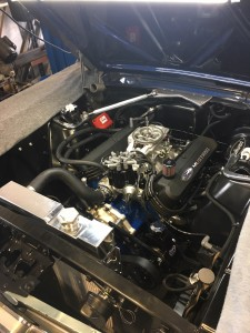 Mustang motor After